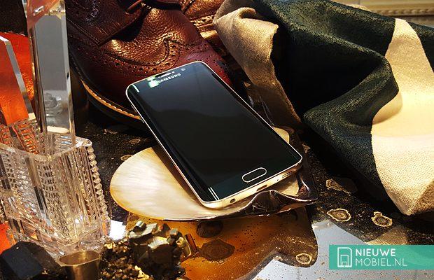 Samsung Galaxy S6 edge gold