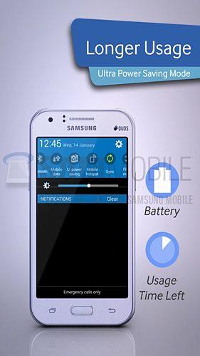Samsung Galaxy J1 Ultra Power Saving Mode