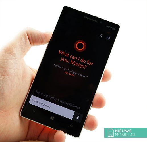 Lumia 930 Cortana