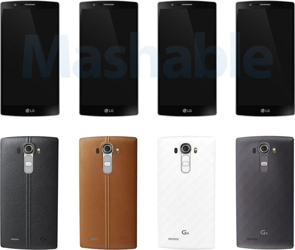 LG G4 color editions
