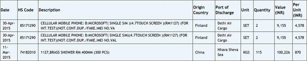 Microsoft Lumia RM-1127