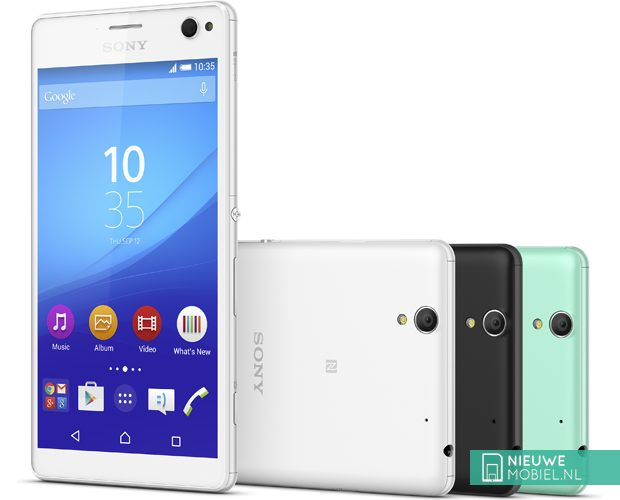 Sony Xperia C4 colors