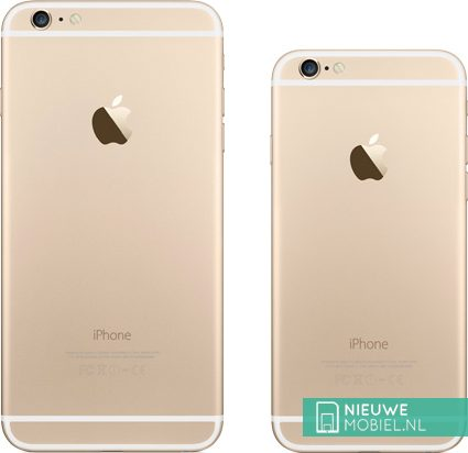 Apple iPhone 6 Plus and 6 Gold