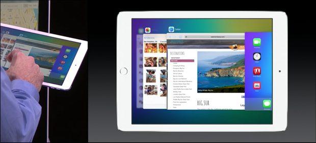 iOS 9 multitasking iPad