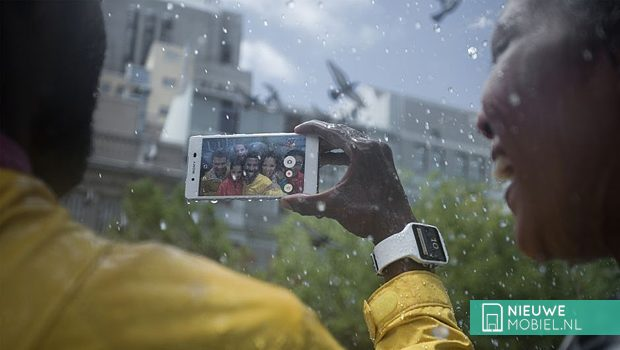 Sony Xperia Z3+ rain