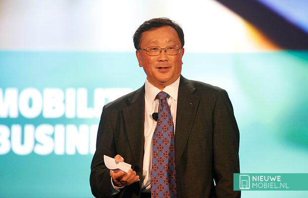 BlackBerry CEO John Chen speaking