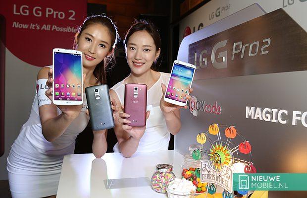 LG G Pro 2 meisjes