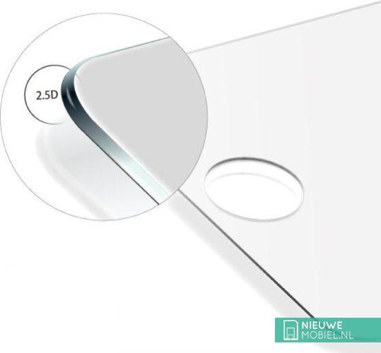 Licht gebogen 2.5D glas