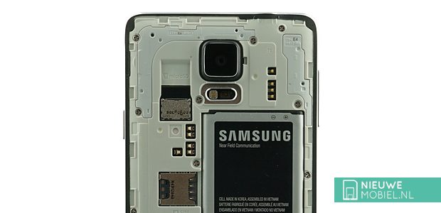 Samsung Galaxy Note 4 without cover