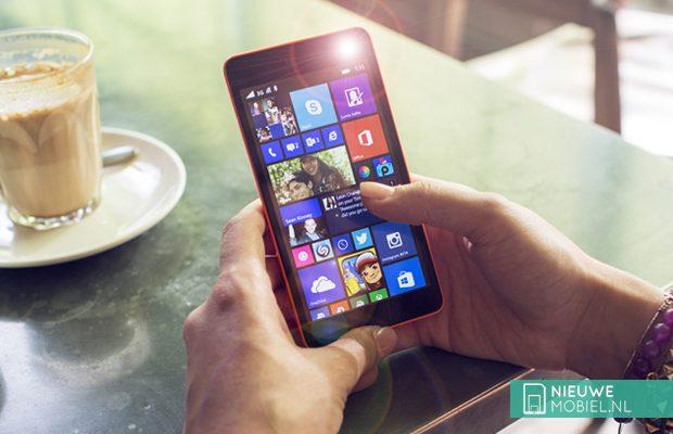 Lumia selfie flitser