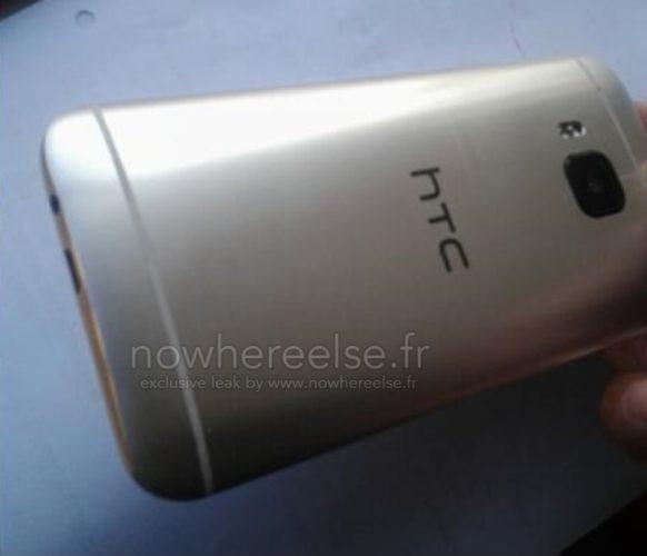 HTC One (M9) rear