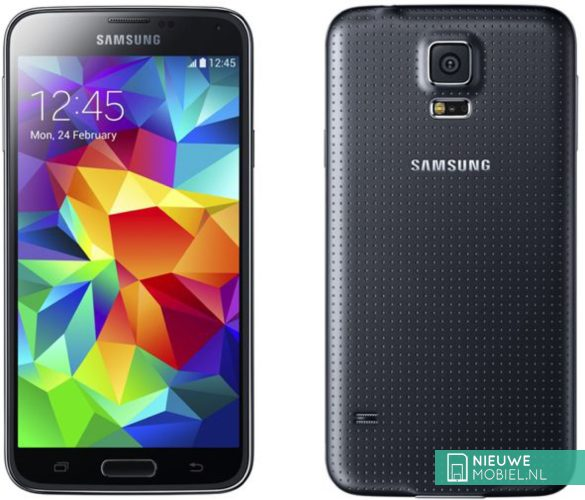 Samsung Galaxy S5 Neo voor- en achterkant