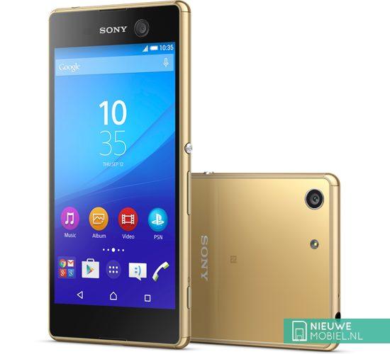 Sony Xperia M5 goud