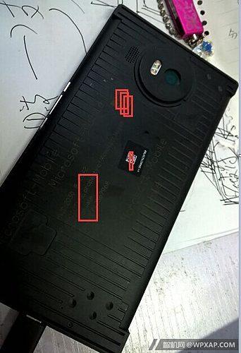 Microsoft Lumia 950 XL achterkant