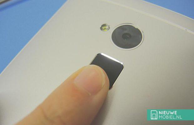 HTC One Max vingerafdrukherkenning