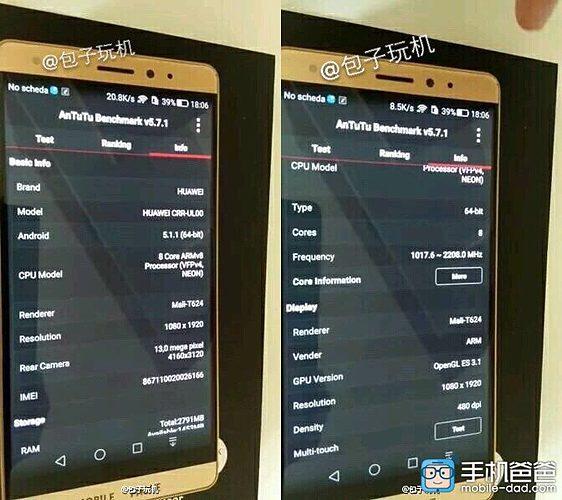 Huawei CRR-ULl00