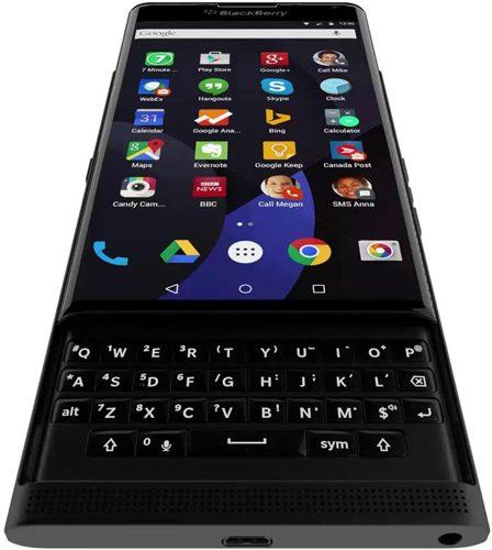 BlackBerry Venice opengeschoven