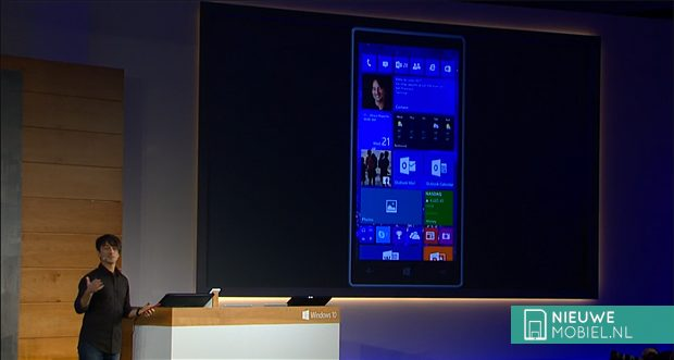 Windows 10 Mobile demo