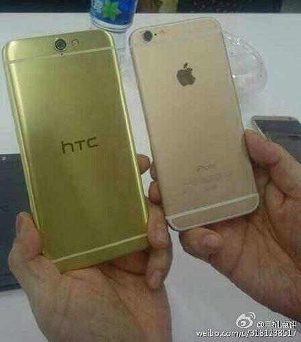 HTC Aero A9 vergelijking met iPhone 6