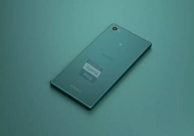 Sony Xperia Z5 achterkant
