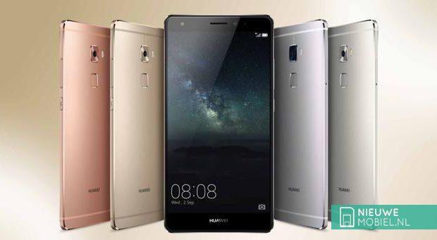 Huawei Mate S kleur uitvoeringen