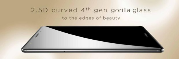 Huawei Mate S curved Gorilla Glass