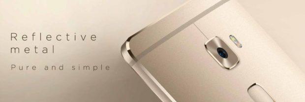 Huawei Mate S reflective metal