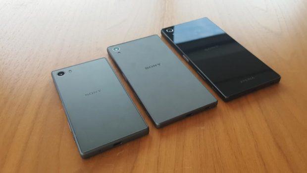 Sony Xperia Z5, Z5 Compact en Z5 Premium