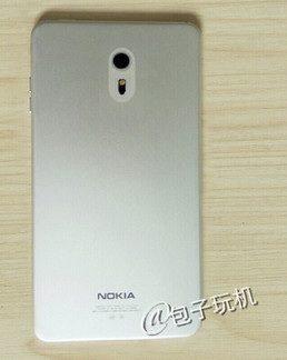 Nokia C1 achterkant
