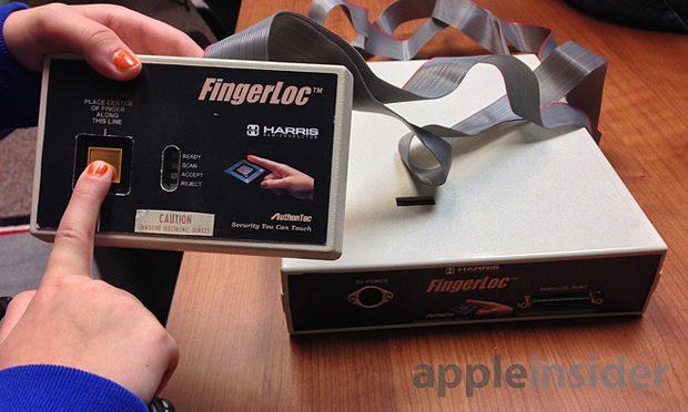 Authentec fingerloc