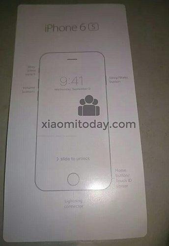 Snelstartgids iPhone 6s