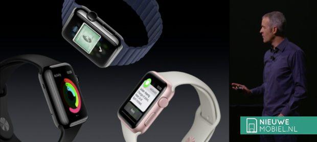 Apple Watch nieuwe uitvoeringen