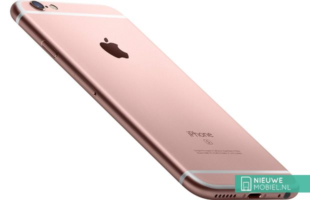 Apple iPhone 6s in Rose Gold