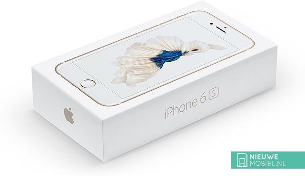 Apple iPhone 6s verpakking