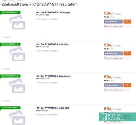 HTC One A9 4G
