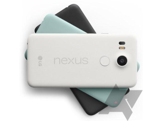 Google Nexus 5X colors