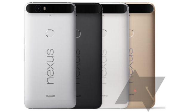 Google Nexus 6P colors