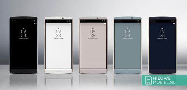 LG V10 uitvoeringen