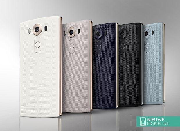 LG V10 achterkant