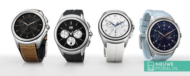 LG Watch Urbane 2nd Edition uitvoeringen
