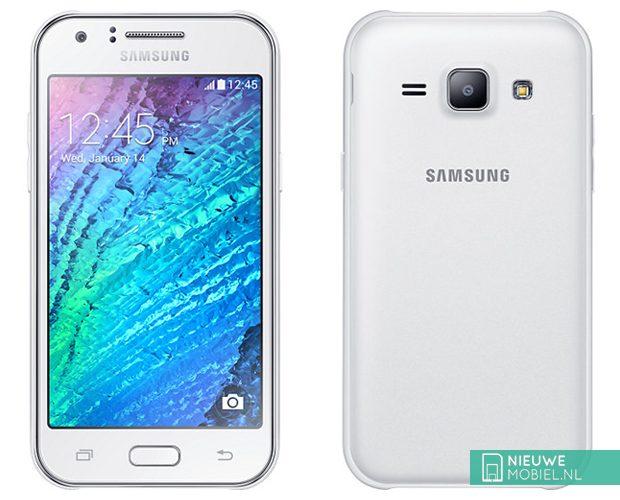 Samsung Galaxy J1 front back