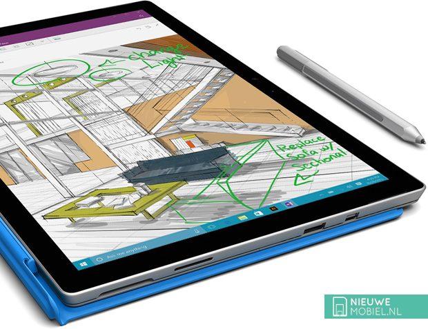 Microsoft Surface Pro 4 met pen