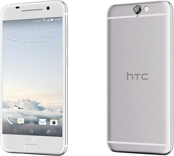 HTC One A9 silver white