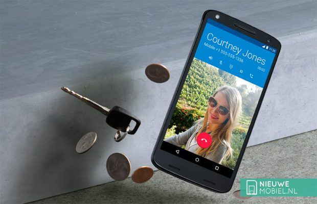 Vallende Motorola Moto X Force