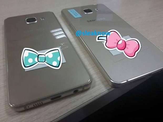 Samsung Galaxy A3 en A5 2015 achterkant