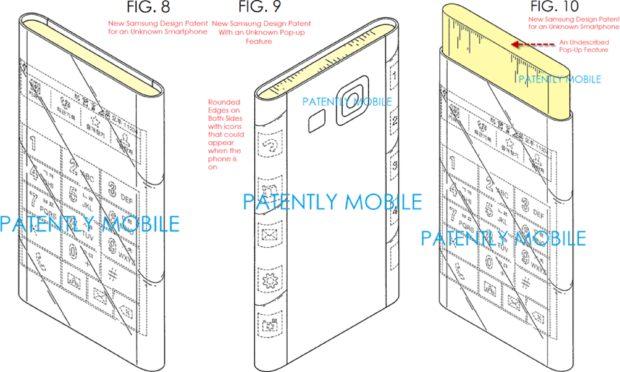 Samsung Galaxy S Edge patent