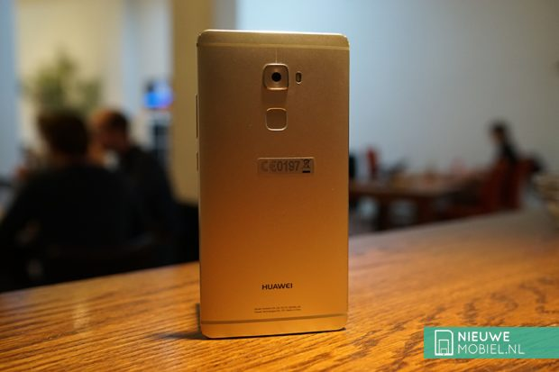Huawei Mate S silver achterkant