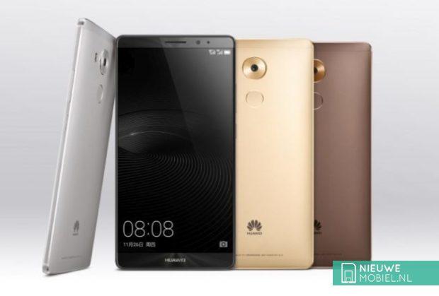 Huawei Mate 8 kleuruitvoeringen