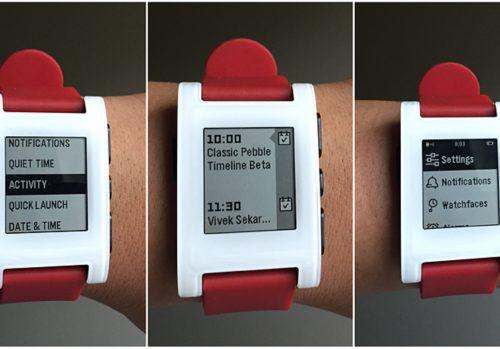Pebble komt nog dit jaar met Timeline-interface voor eerste generatie en Steel