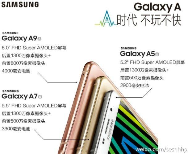 Samsung Galaxy A9 specs